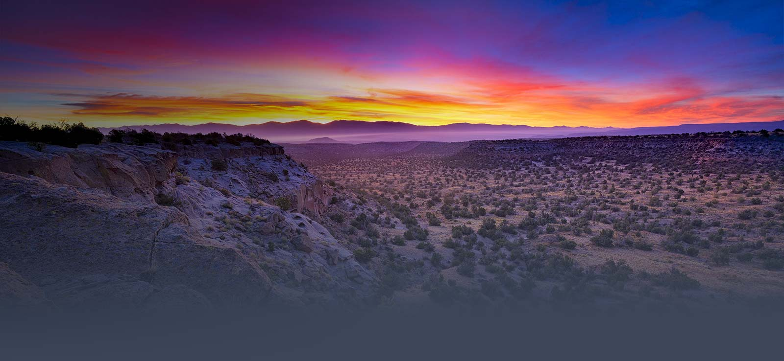Colorful New Mexico sunset